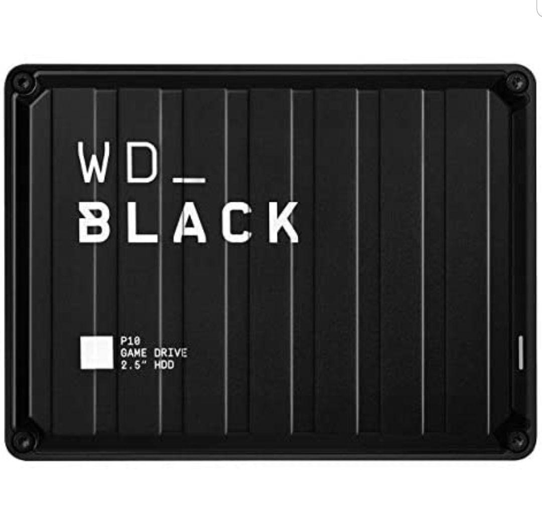 Disco duro 5 TB - WD_Black P10 Game Drive, Compatible con PC y Consolas, Negro