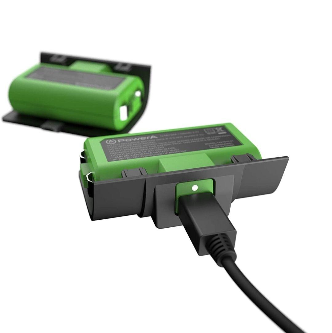 Pack de 2 baterías de Carga para Mandos Xbox One y Xbox X S, Compatible con Base de Carga