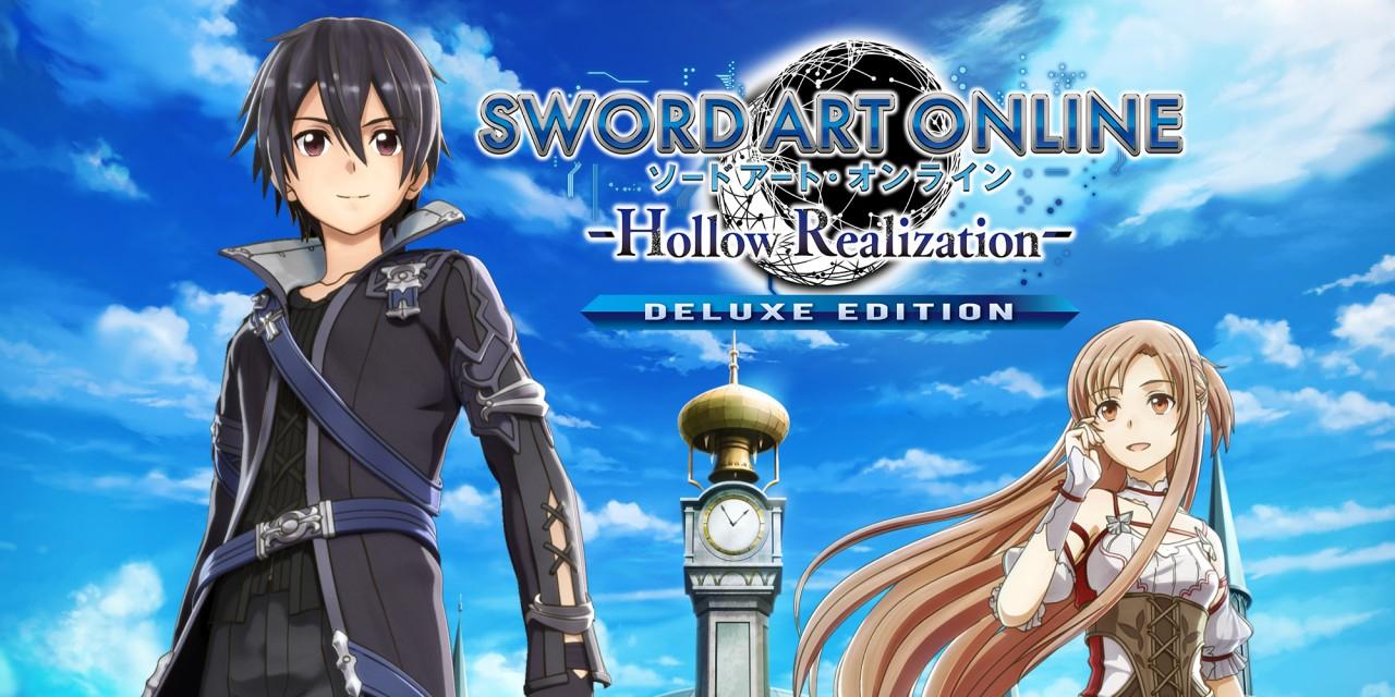 Sword Art online: Hollow Realization Deluxe Edition Nintendo Switch eshop