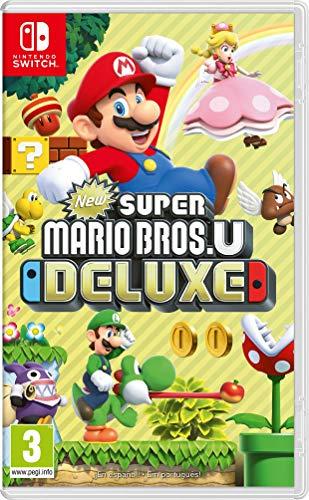 New Super Mario Bros. U Deluxe, Super Mario 3D World, Super Mario Party