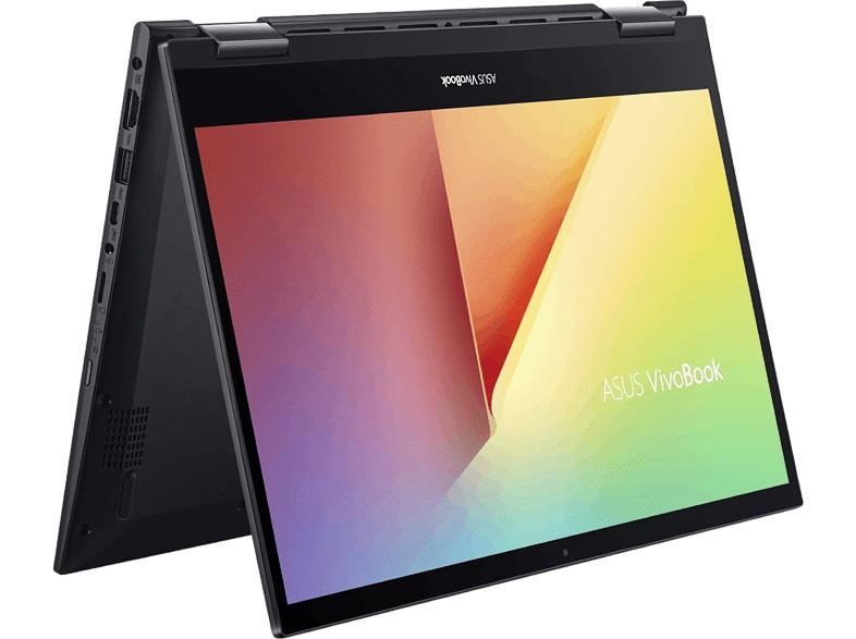 """Convertible 2 en 1 - Asus VivoBook Flip TM420IA-EC198T, 14"""", AMD Ryzen 5 4500U, 8 GB RAM, 512 GB SSD, W10"""