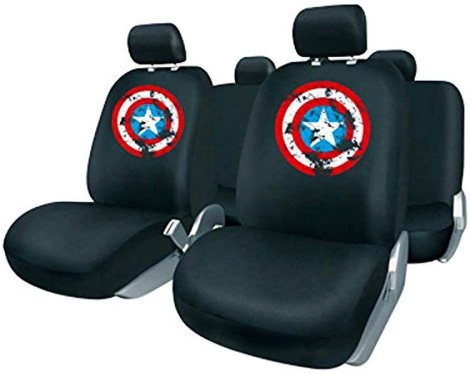 Capitán América Juego Fundas, Negro