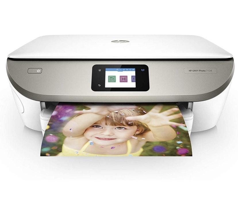 HP ENVY 7134 4800 x 1200DPI Inyección de tinta térmica A4 14ppm Wifi - Impresora multifunción (Inyección de tinta térmica, 4800 x 1200 DPI