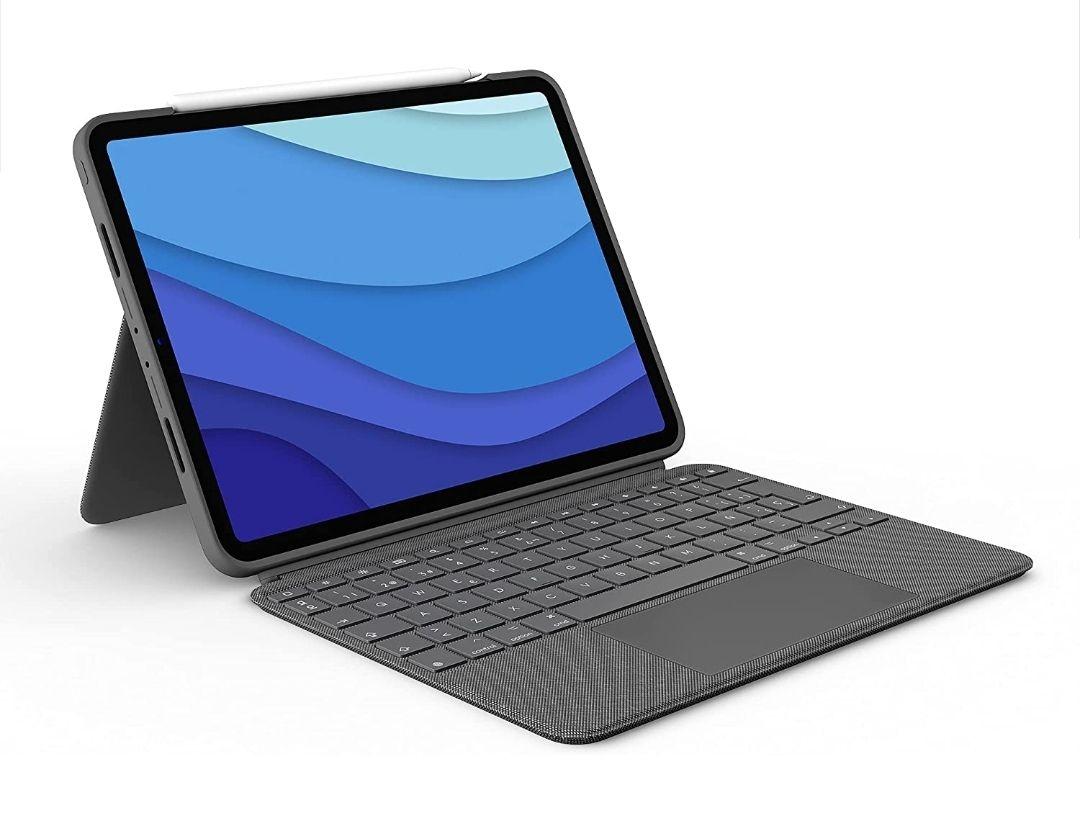 Funda Logitech Combo Touch 2021 para ipad pro 11