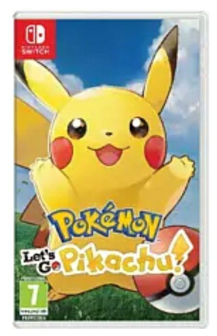 Pokemon let's go Pikachu. Nintendo Switch
