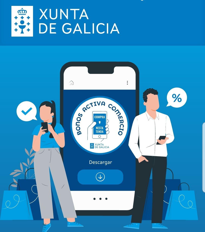 Bono 30€ comercios Galicia