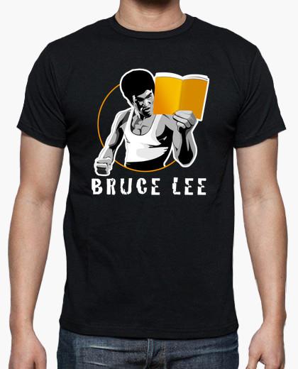 Camiseta Bruce lee un libro