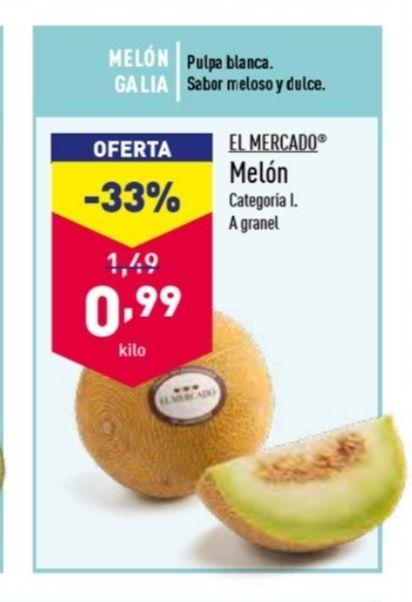 Melón Galia - 0,99 €/kg