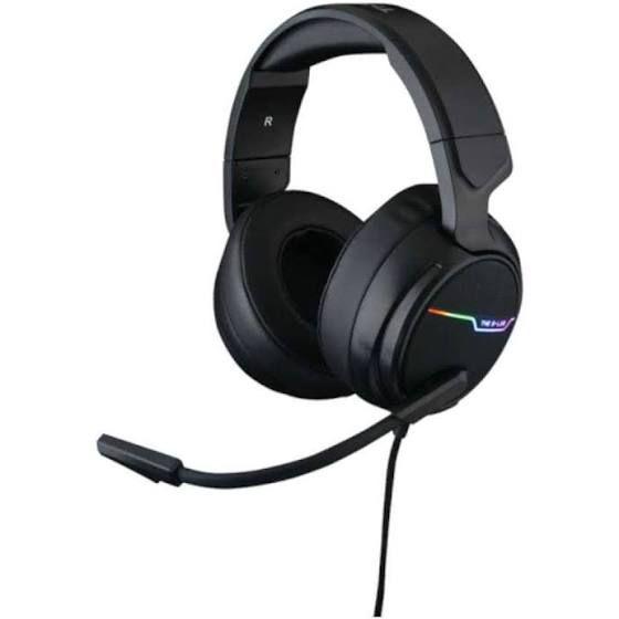 THE G-LAB Korp THALLIUM Cascos Gaming USB 7.1 Digital Surround - Auriculares Gaming - Micrófono con cancelación de ruido