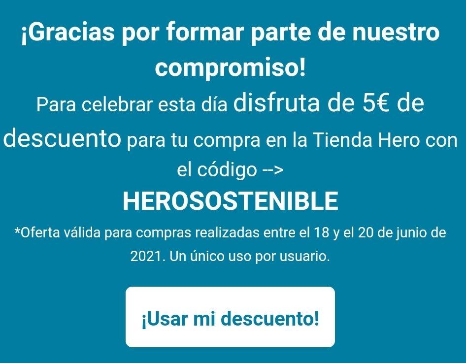5€ de descuento en la tienda HERO