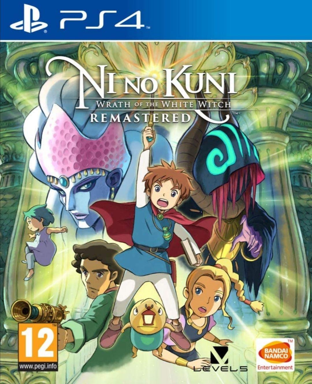 Ni no Kuni: La ira de la Bruja Blanca - Remastered PS4 FÍSICO