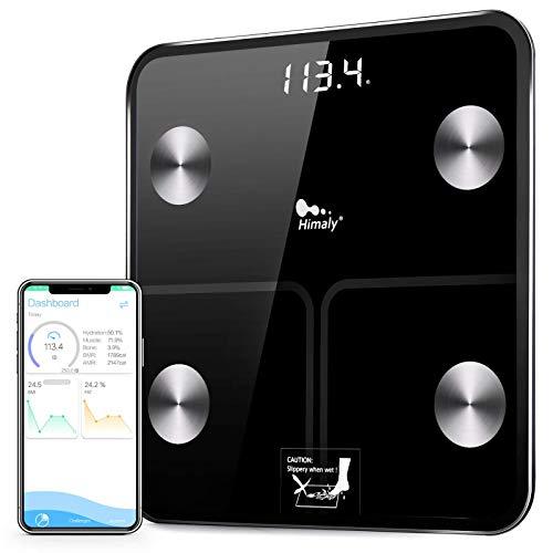 Báscula Grasa Corporal, Baño Digital Bluetooth Inteligente. Por 13,29€