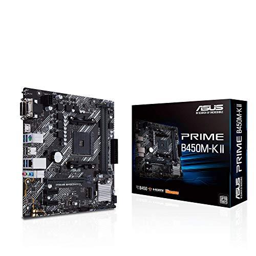Placa Base Asus Prime B450M-K II por 59,99 €