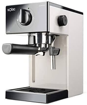 Solac CE4505 Squissita Easy Ivory - Cafetera espresso