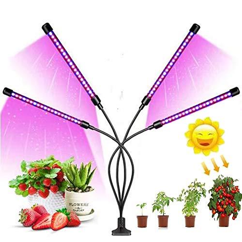 Lámpara LED Cultivo de 4 Cabezales