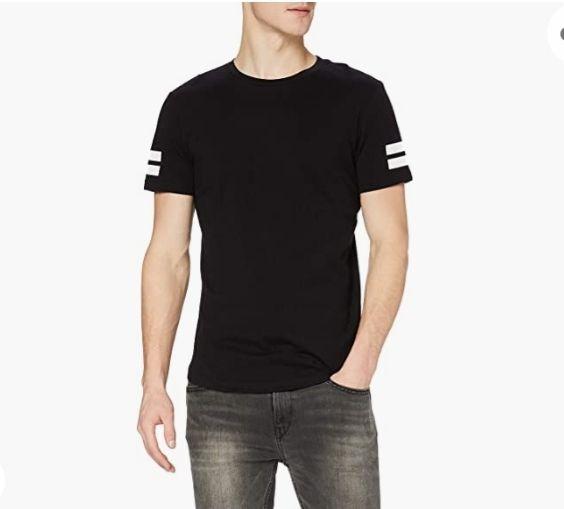 Camiseta Jack & Jones Jcoboro (color negro). Precio disponible para tallas XS, M, XL y XXL