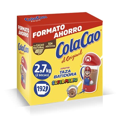Cola Cao Original, Batidora Mario Nintendo 2.7 Kg