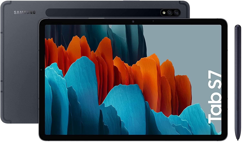 """Samsung Galaxy Tab S7 - Tablet Android 4G de 11.0"""" I 128 GB I S Pen Incluido I Color Negro [Versión española]"""