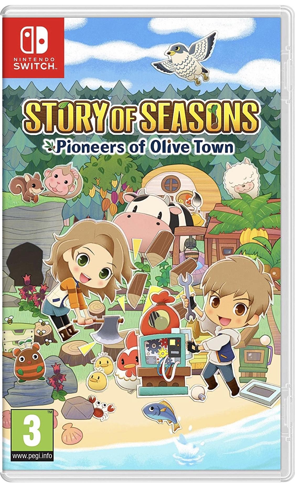 Story of Seasons. Pioneers of Olive Town