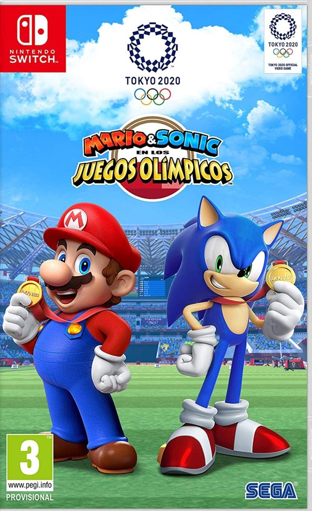 Mario & Sonic en las Olimpiadas de Tokyo 2020 Nintendo Switch