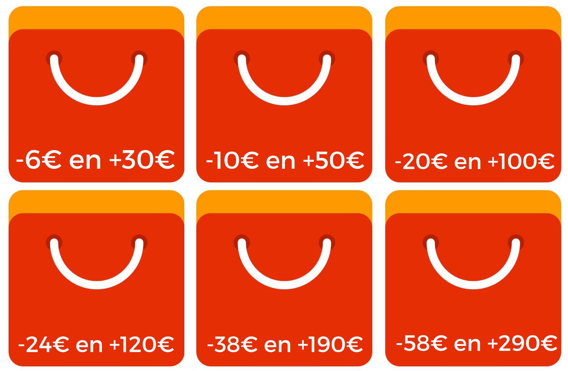 Cupones para todo AliExpress para hoy domingo para productos seleccionados