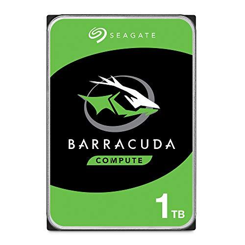 """Seagate BarraCuda, 1 TB, Disco duro interno, HDD, 3,5"""", SATA 6 GB/s, 7200 RPM"""