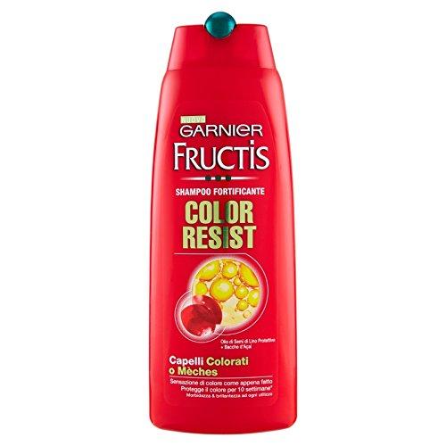 Garnier fructis color resist, champu, 12 x 250ml