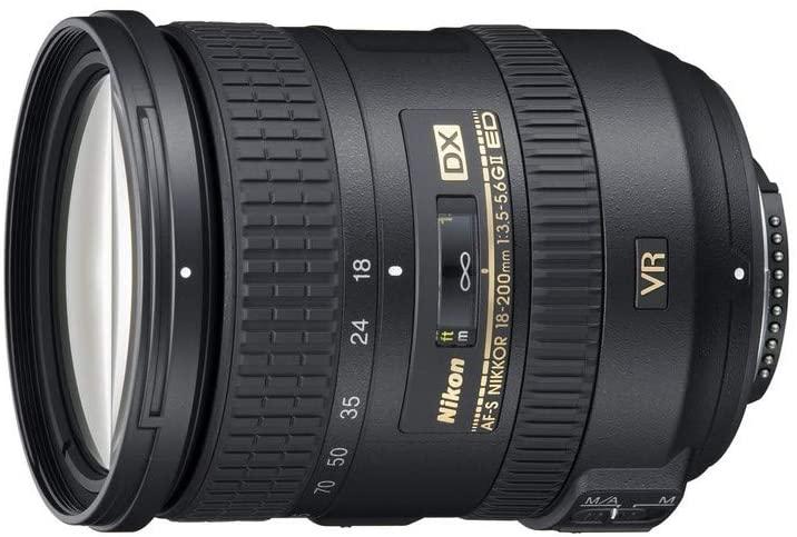 Objetivo Nikon AF-S DX 18-200mm solo 329€