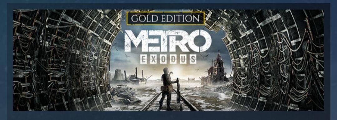 Metro Exodus Gold Edition 19,49€ con ps plus