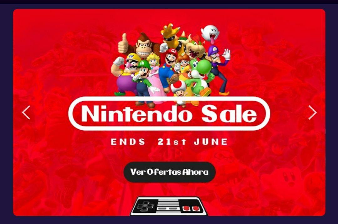 Descuentos en juegos y códigos de Nintendo Switch