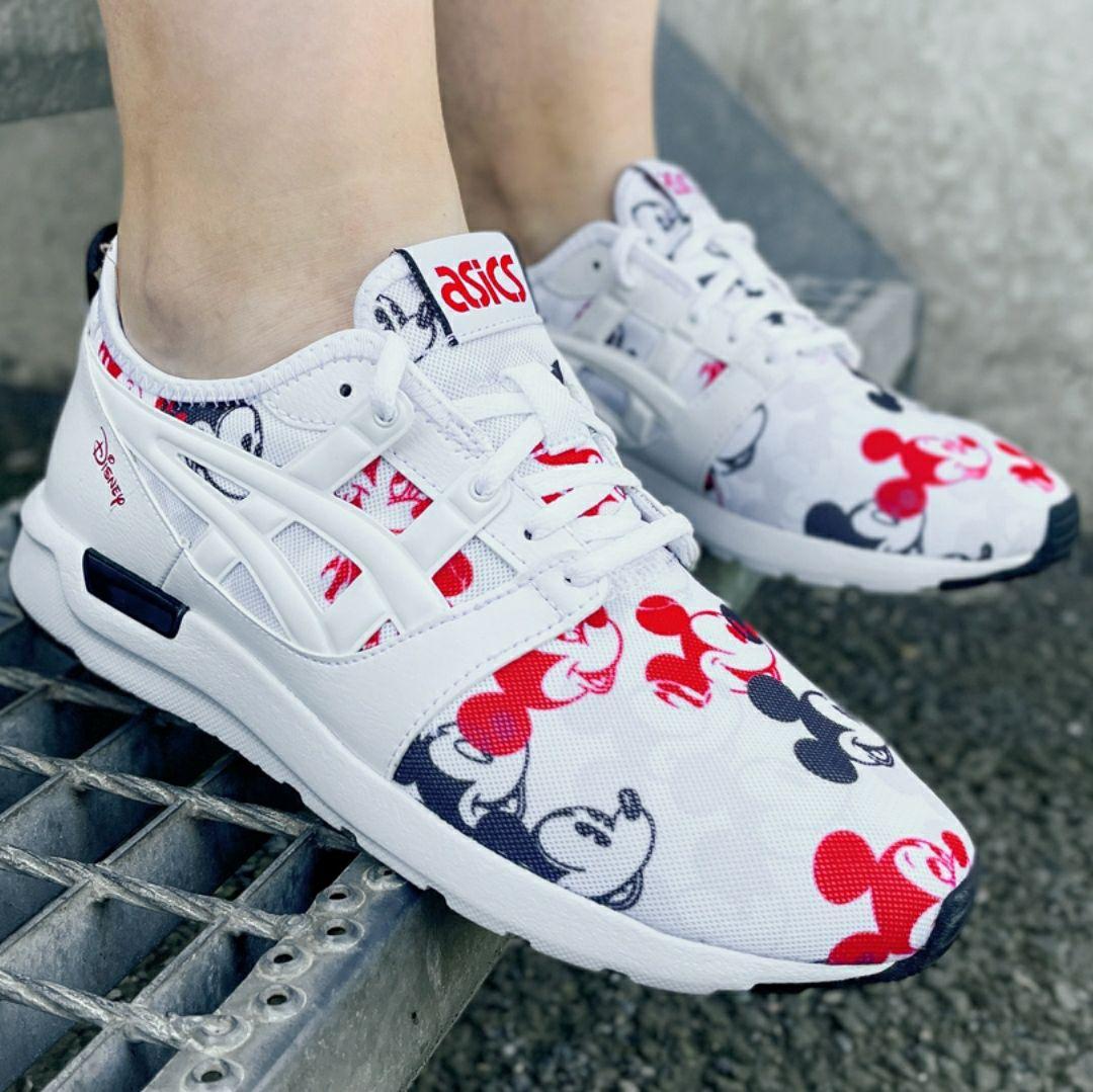 ASICS x Disney GEL-Lyte Hikari GS Mujer Sneakers. Tallas 36 y 37. Tallas niña: de la 31,5 a la 35 por 7€ menos