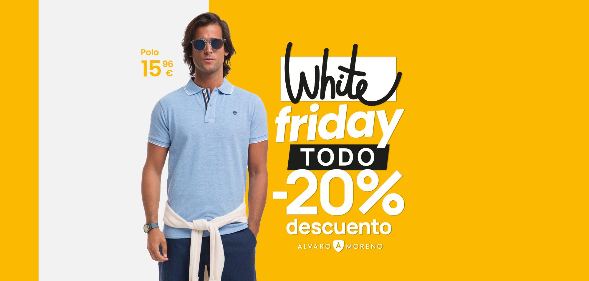 20% Descuento en Álvaro Moreno