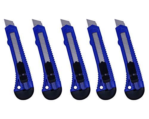 5x Cuters con cuchilla de 18mm
