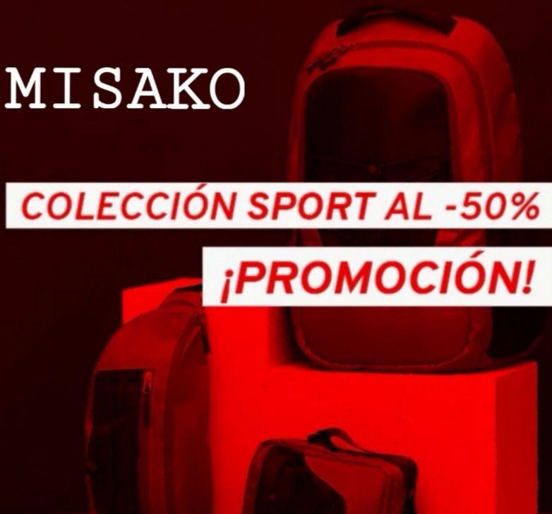 -50% Dto. Colección Deportiva #misakosport! Y +