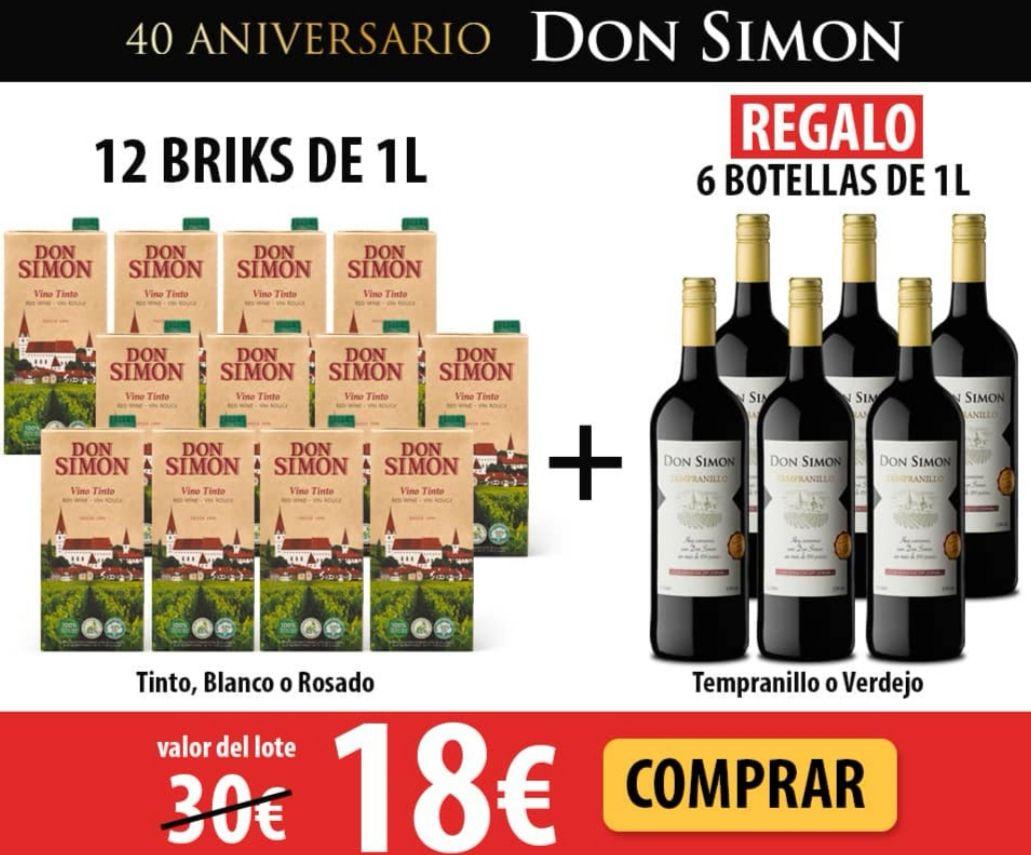 DON SIMON Envío gratis y Packs de Ofertas + Regalos