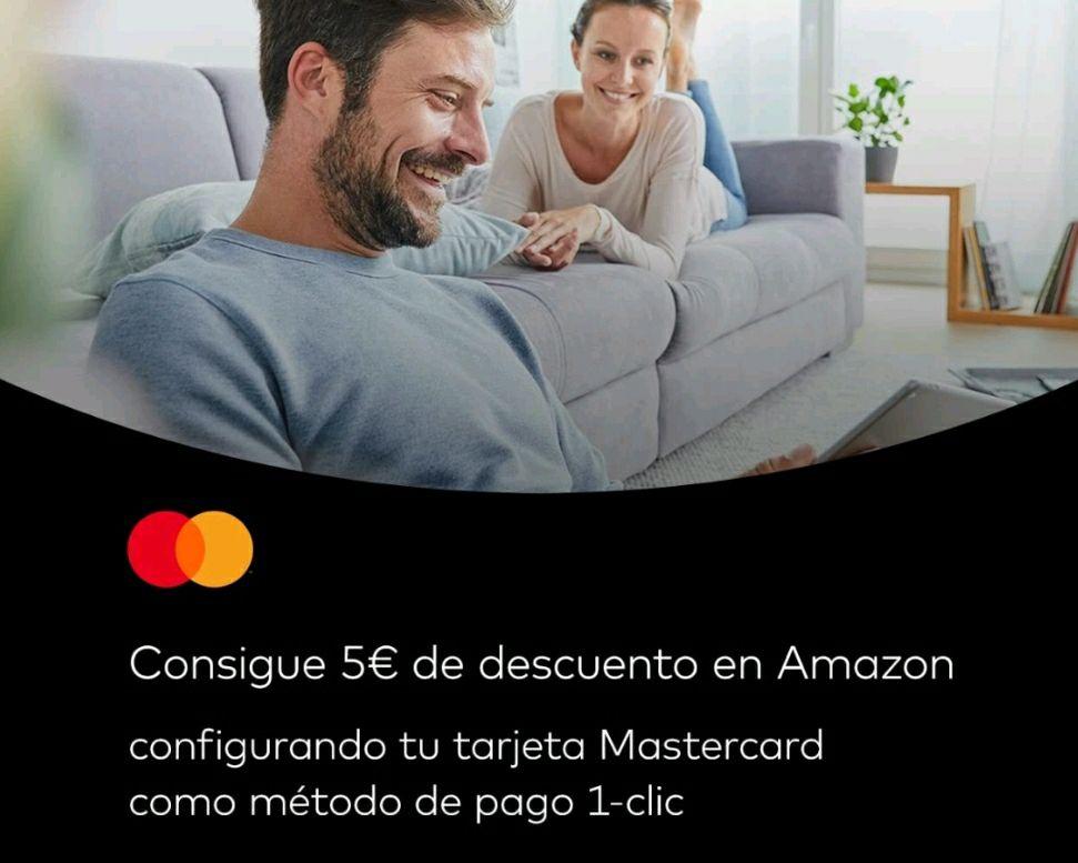Consigue 5 € de descuento para comprar en Amazon con Mastercard [Cuentas seleccionadas]