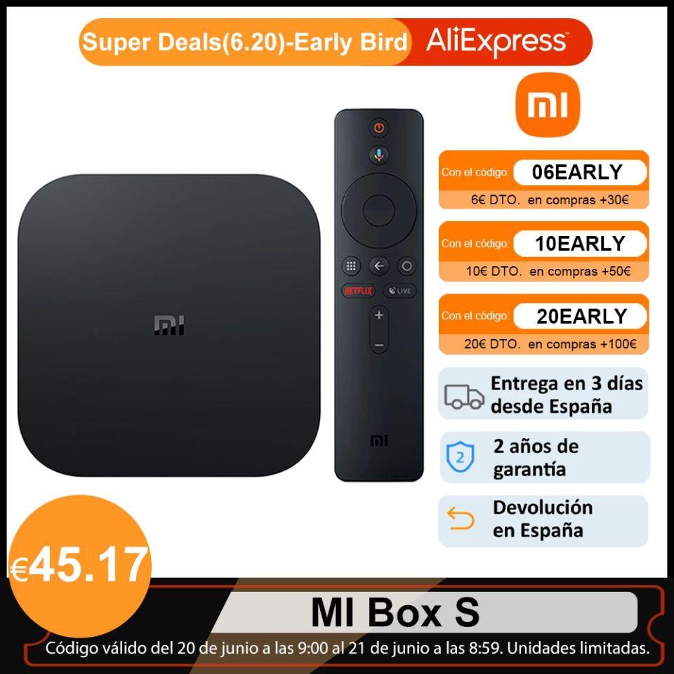 Mi box S 4K desde España
