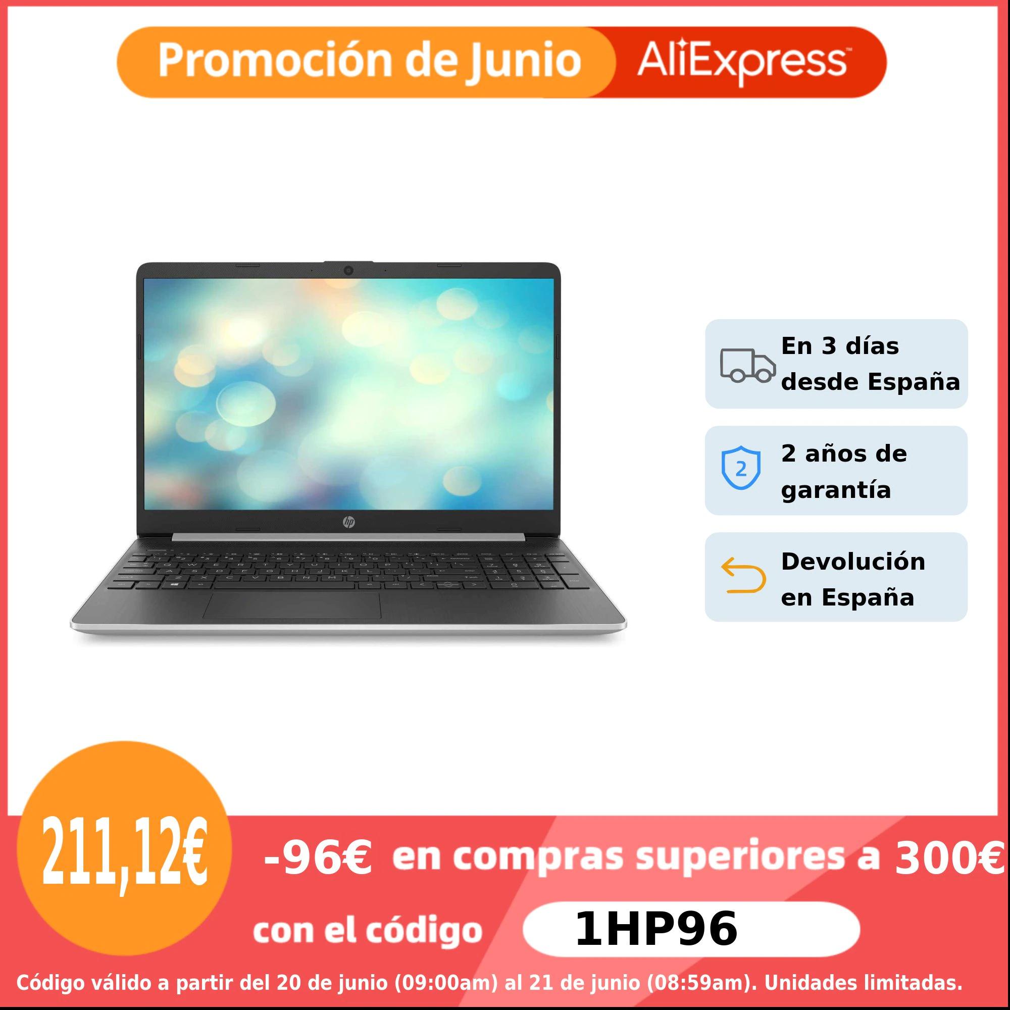 """Ordenador portátil HP15.6"""" HD"""