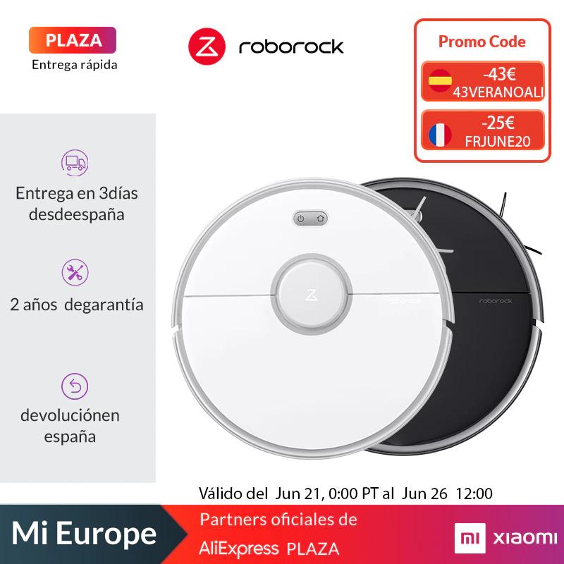Roborock Robot aspirador S5 Max - Desde España (Plaza)