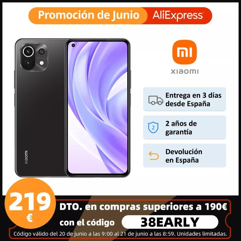 Xiaomi Mi 11 lite 6/128Gb desde España