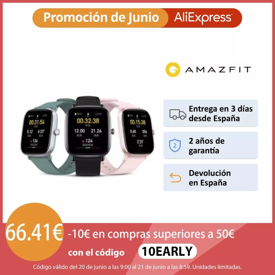 Amazfit GTS 2 mini desde España