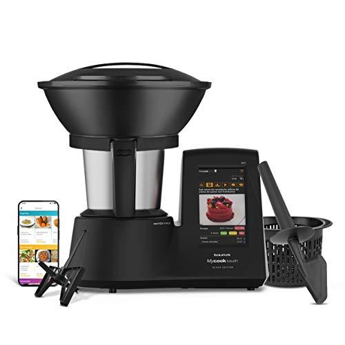 Taurus Mycook Touch Black Edition - Robot de Cocina con wifi