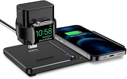 Cargador inalámbrico iPhone y Apple Watch