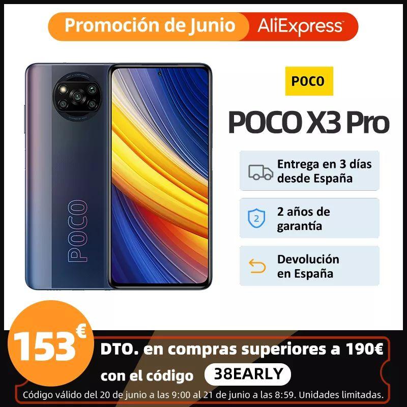 Poco X3 PRO 8/256Gb desde España