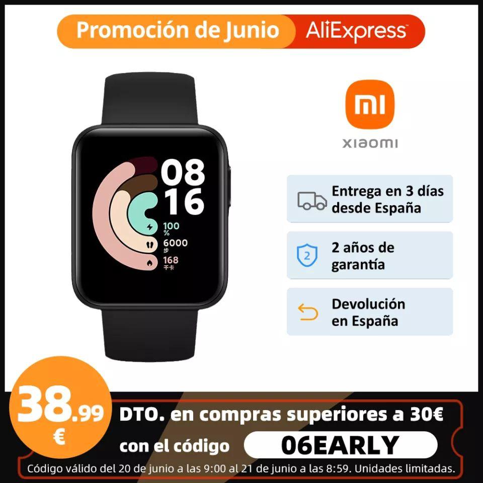 Xiaomi Mi watch lite desde España