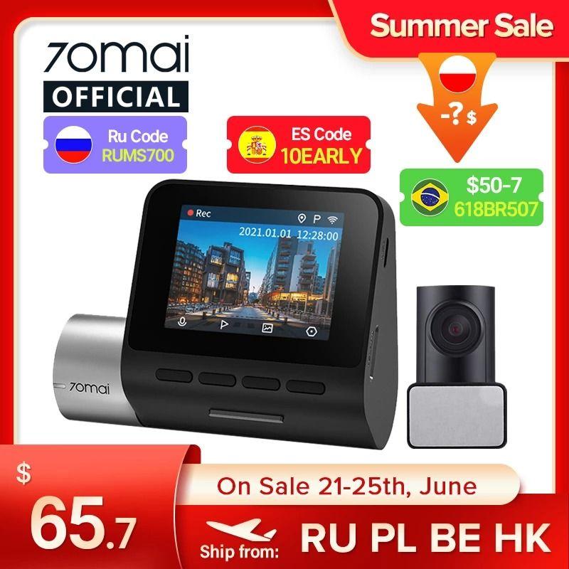 70mai Dash Cam Pro Plus + A500S