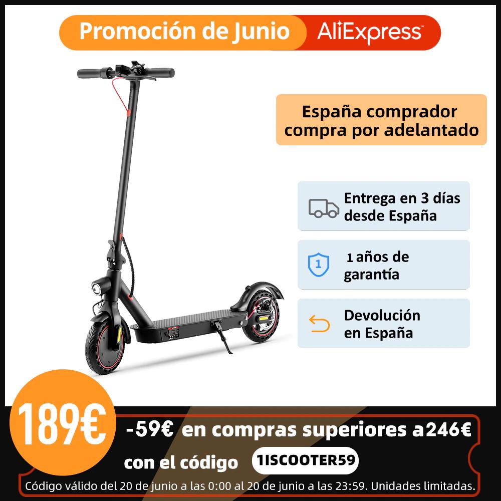 IScooter-patinete eléctrico E9D de 350W (Envio desde España)