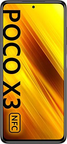 "POCO X3 NFC - Smartphone 6.67"" FHD+, 6 + 128GB, Snapdragon 732G, 64 MP con IA, Quad-cámara, 5160 mAh, color Gris sombra"