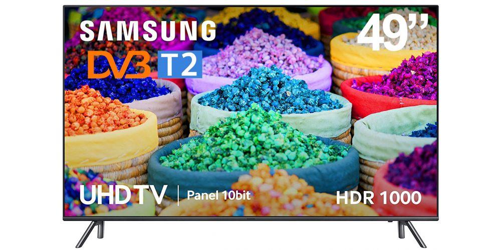 "Samsung UE49MU7055 - Led 49"" UHD 4K Smart Tv HDR1000 2300Hz Panel 8 Bits + FRC"