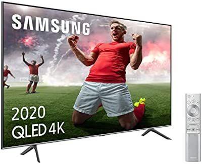 "Samsung QLED 4K 2020 65Q64T - Smart TV de 65"" con Resolución 4K UHD"
